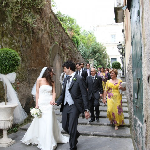 Religious wedding amalfi coast