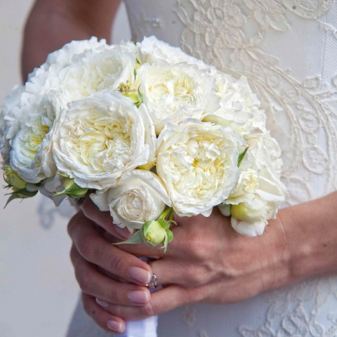luxury wedding Sorrento bouquet