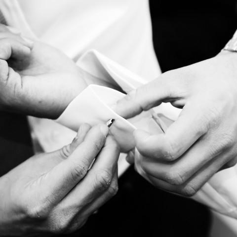 groom's cufflink