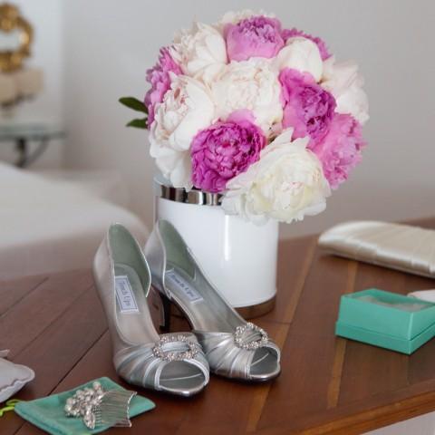 Peonies bouquet Positano