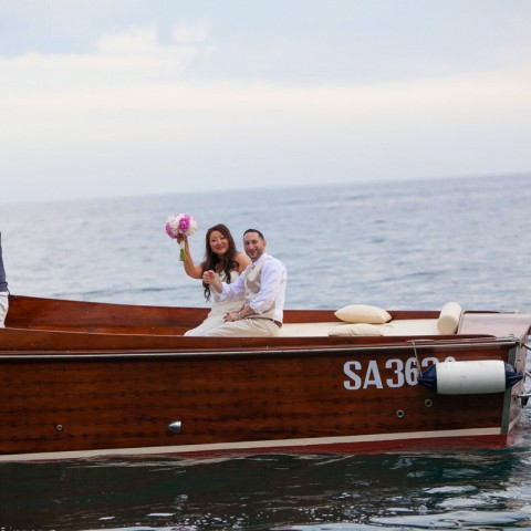 Bride and Groom Boat tour