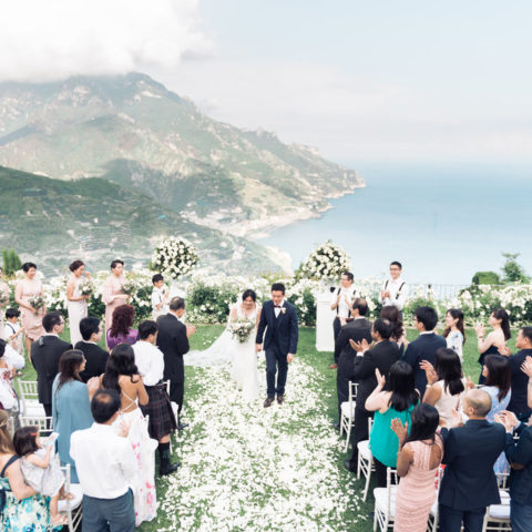 Ravello Wedding Villa Cimbrone Emma Events
