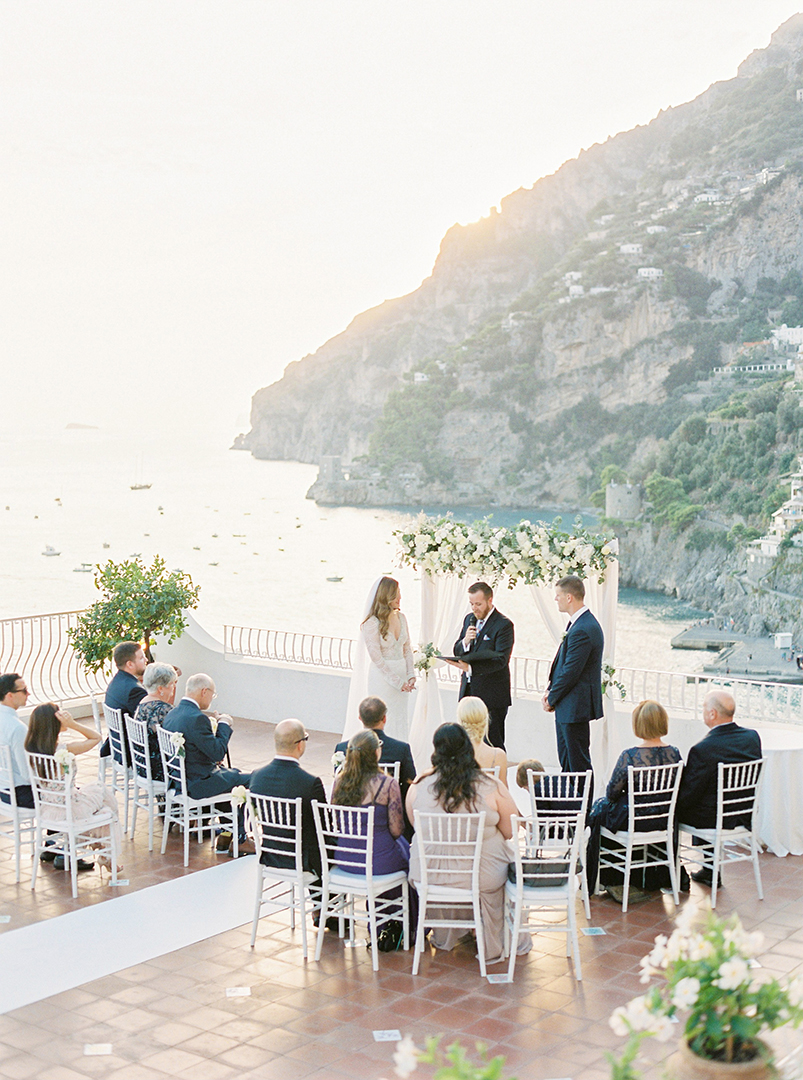 Intimate wedding in Positano - Symbolic ceremony in Positano